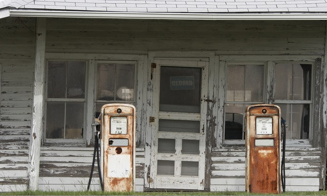 Las estaciones de servicio a lo largo de la historia