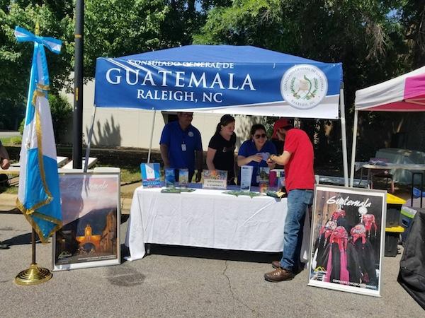 Celebrarán Independencia de Guatemala en Raleigh