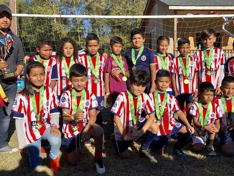 Foto del equipo campeón: Chivitas