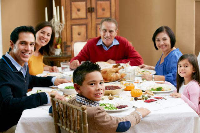 Consejos para Día de Acción de Gracias seguro