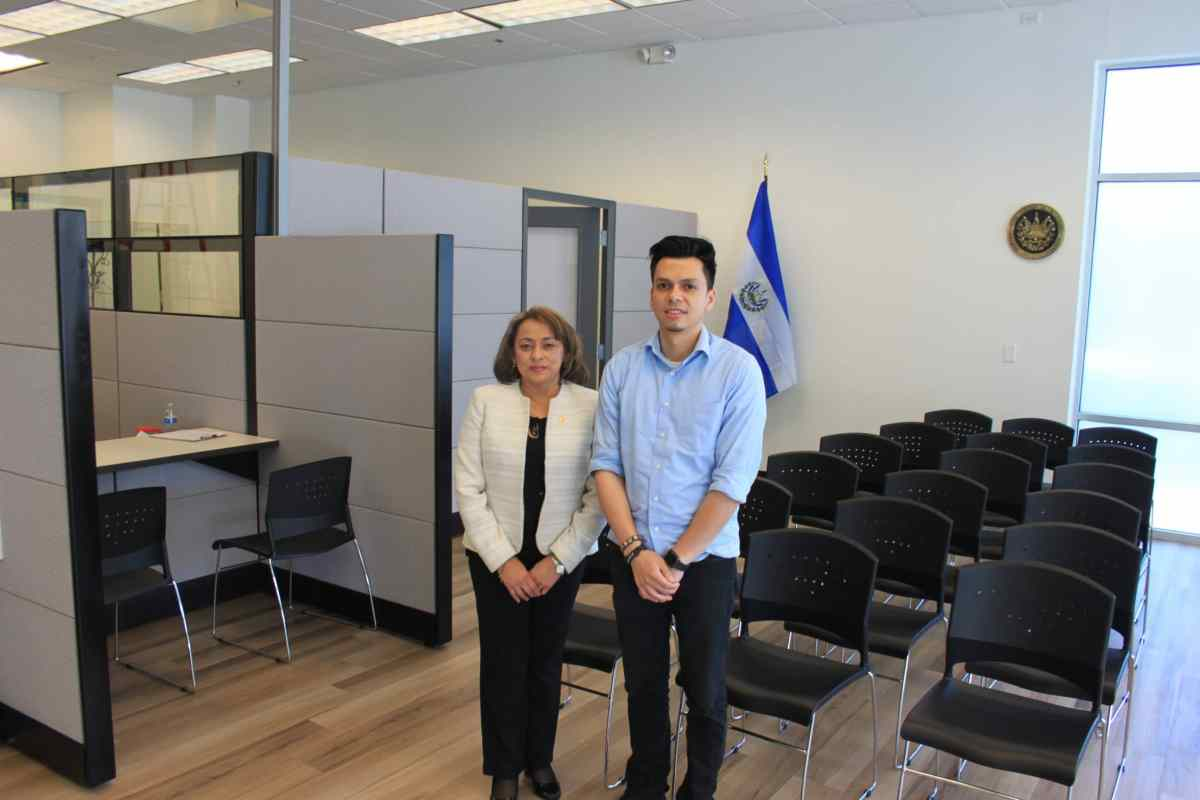 Consulado de El Salvador en Carolina del Norte abre oficialmente el 1ro de agosto