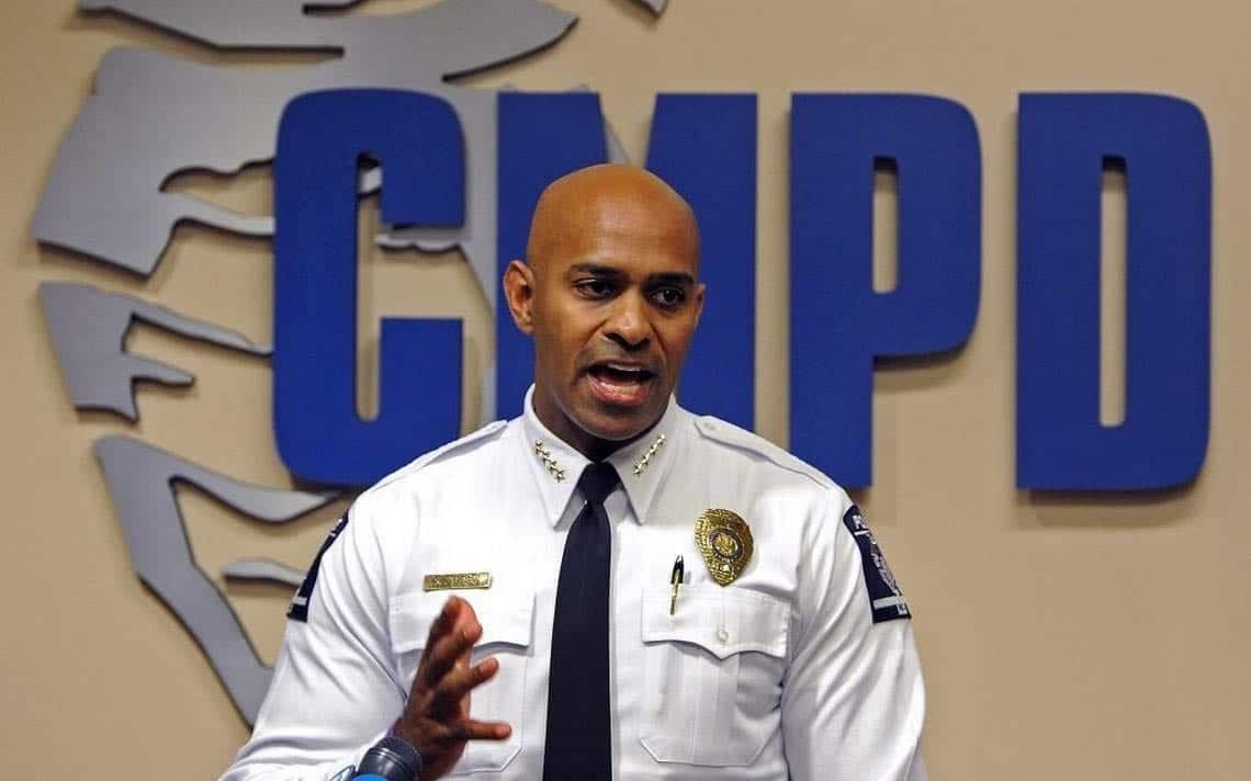 Jefe de Policía de Charlotte dejará su cargo después de Convención Republicana