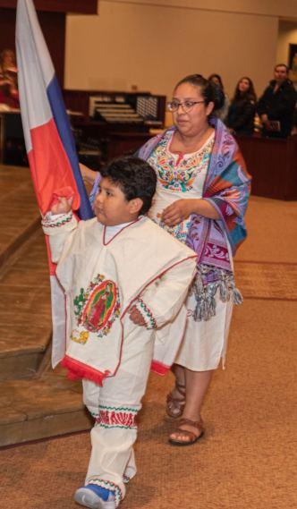 Recrean con talento local el relato de la aparición de la Virgen de Guadalupe