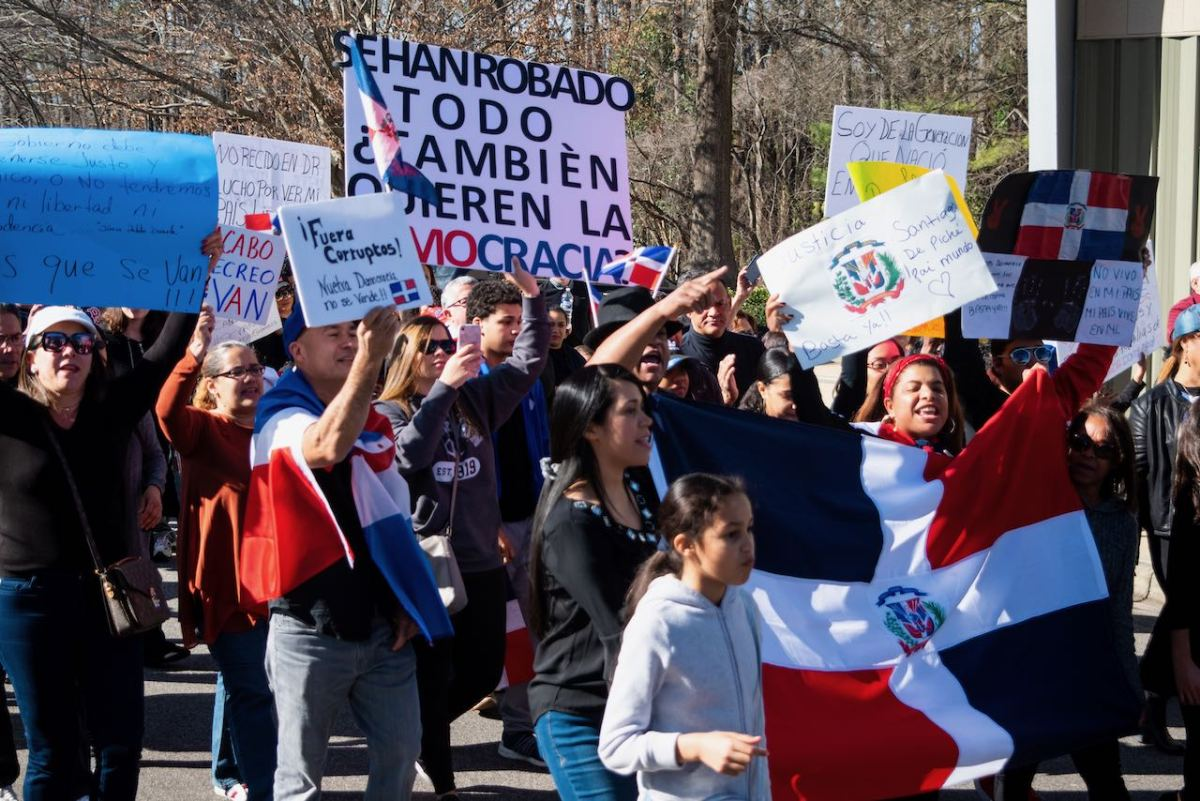 Protestas internacionales contra gobierno dominicano