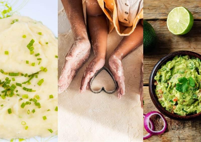 3 recetas fáciles para hacer con niños en casa