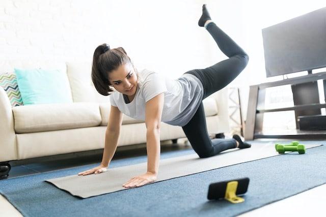 Aplicaciones para hacer ejercicio en casa