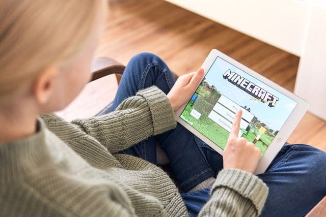 Vacaciones virtuales y Minecraft
