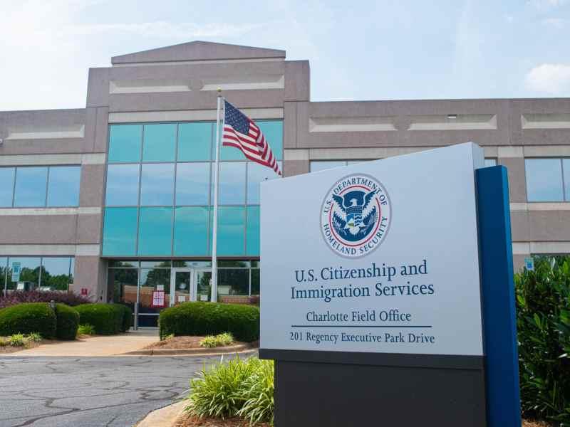 Oficina de Inmigración en Charlotte