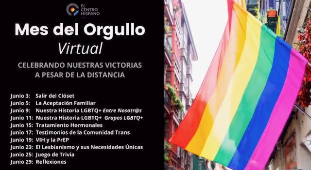 """Organización realiza mes de orgullo LGBTQ """"virtual"""""""