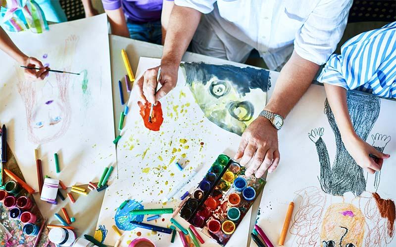 Charlotte Art League ofrece diferentes clases de arte en línea