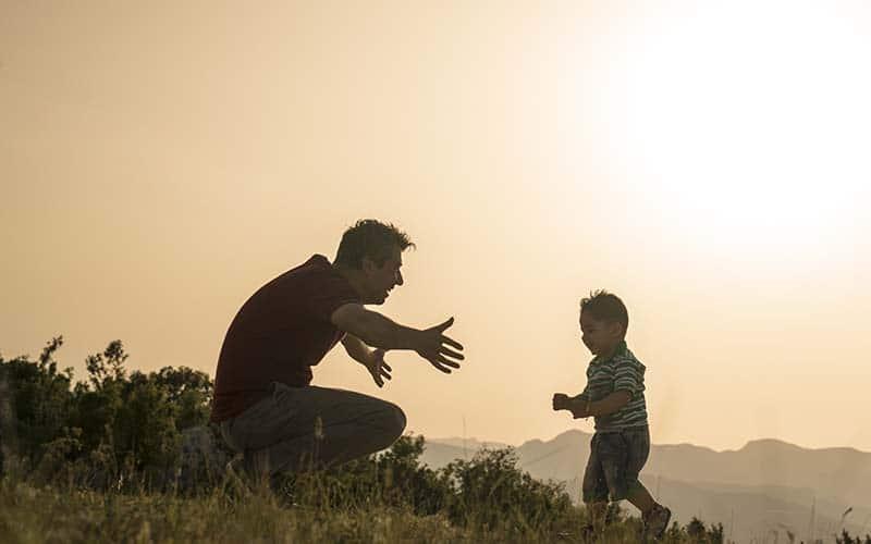 Para cultivar amor entre padre e hijos