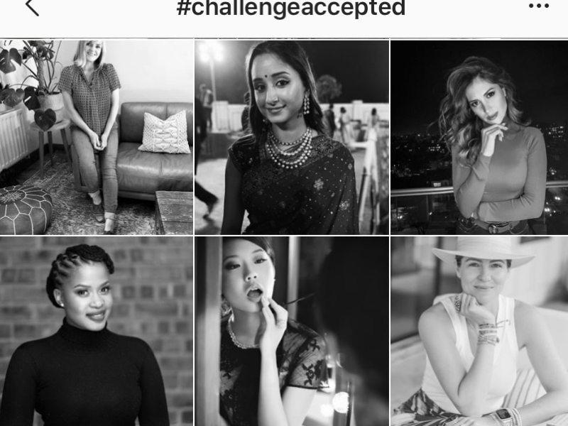 Challenge Accepted, el reto solo para mujeres en Instagram