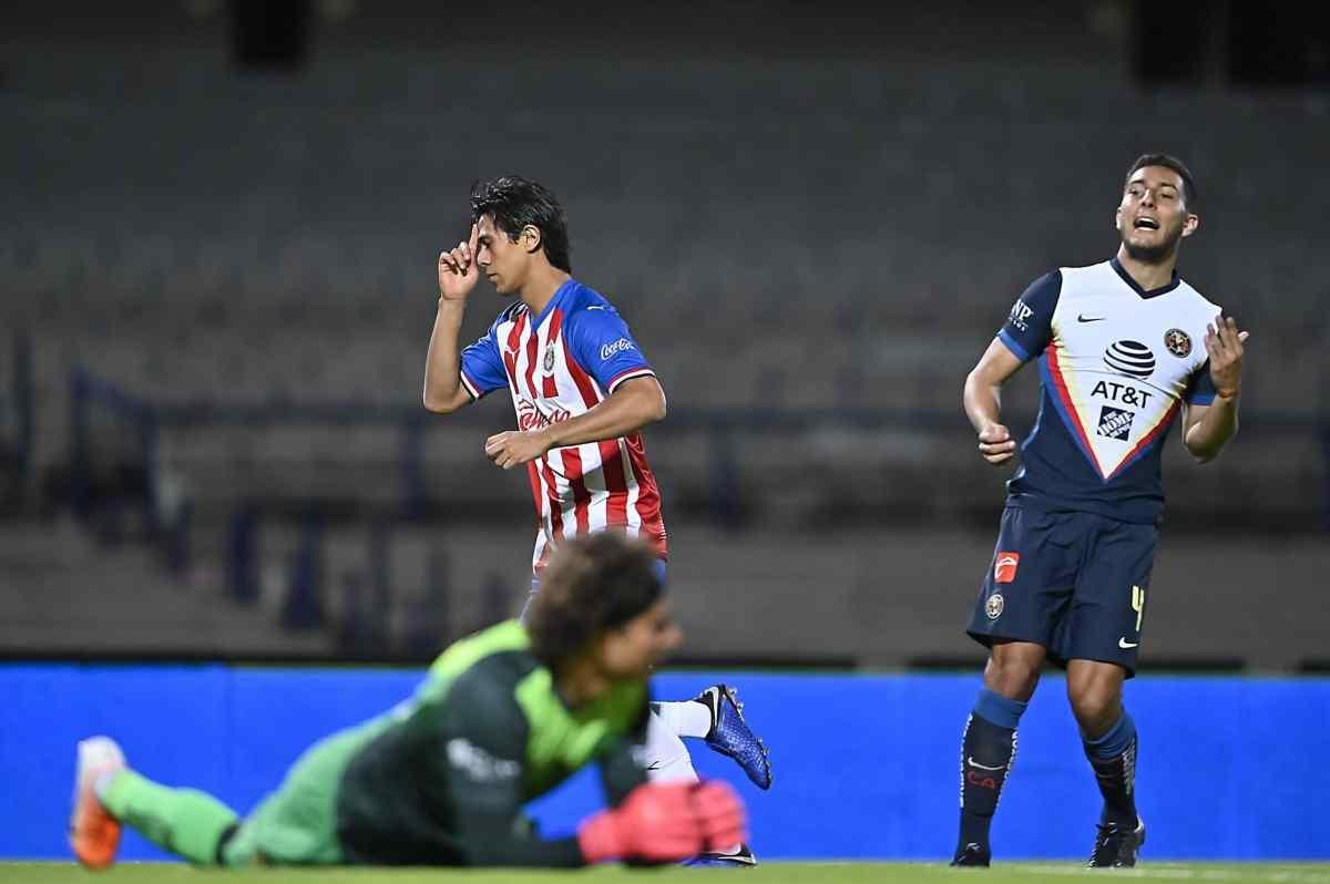 Chivas ganó el clásico nacional ante América en las semifinales de la Copa por México (VIDEO)