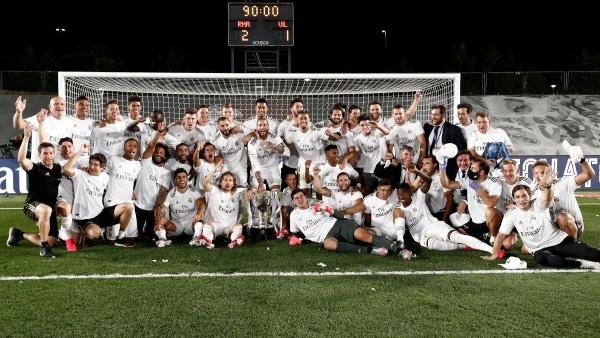 Disfruta de las mejores fotos del camino al título 34 del Real Madrid en LaLiga