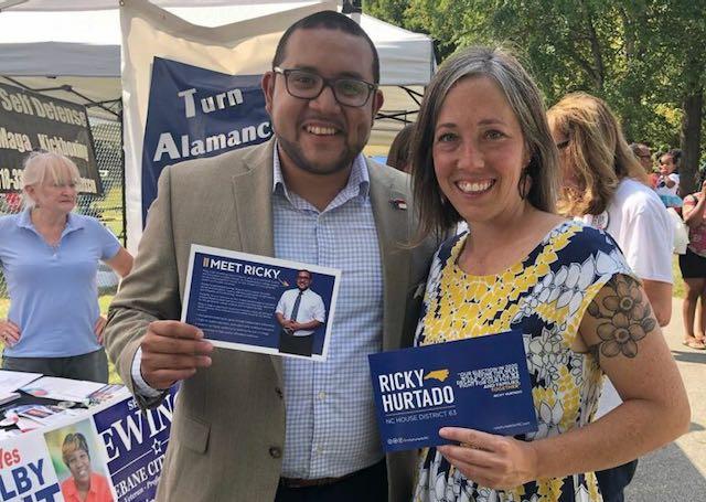 Ricky Hurtado busca ser el primer latino en llegar a la Cámara de Carolina del Norte