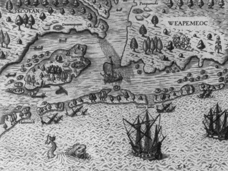El misterio de Roanoke y Carolina del Norte como el inicio de Estados Unidos