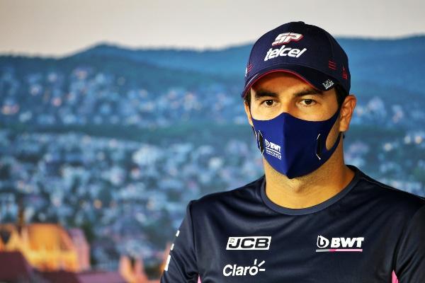 Sergio 'Checo' Pérez dio positivo en coronavirus; no correrá el GP de Silverstone
