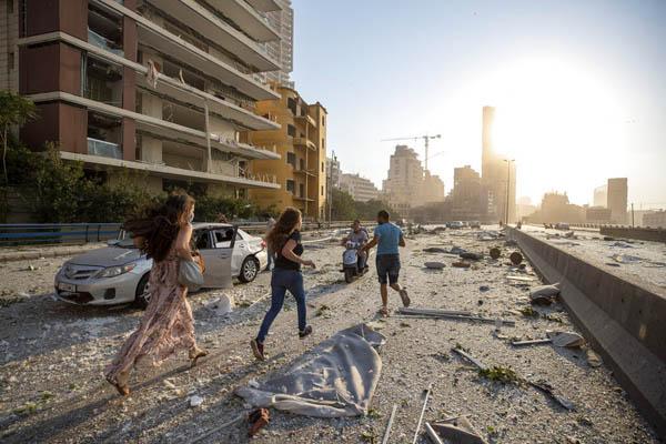 Explosión en Beirut: destrucción y muerte [FOTOS]