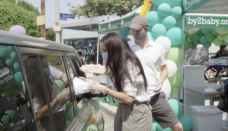 Meghan y Harry salen a las calles por una buena causa