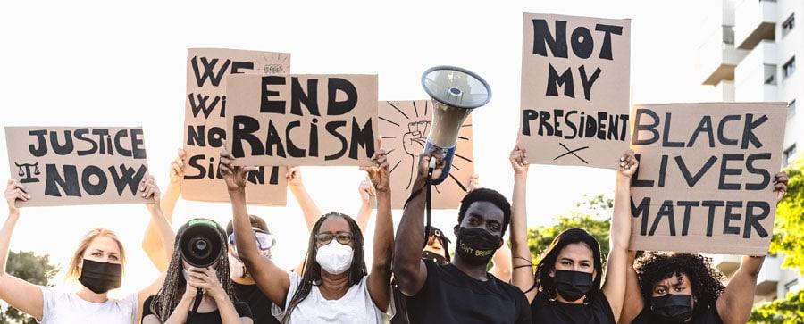 9 de cada 10 protestas de Black Lives Matter fueron pacíficas