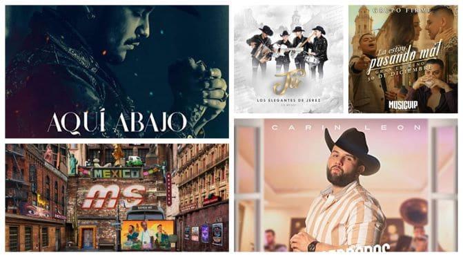 Canciones exitosas en la música regional mexicana