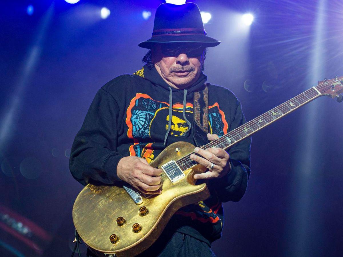 Carlos Santana venderá su propia marca de marihuana