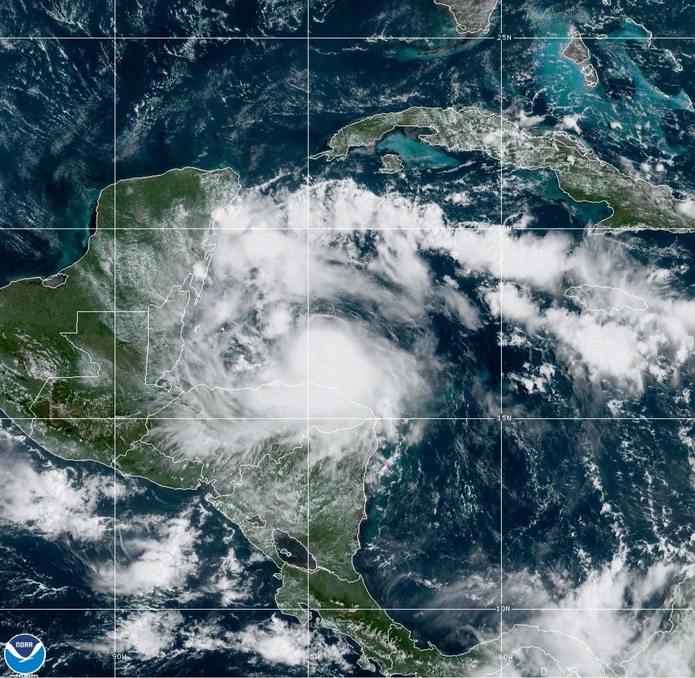 tormenta tropical Nana México Guatemala