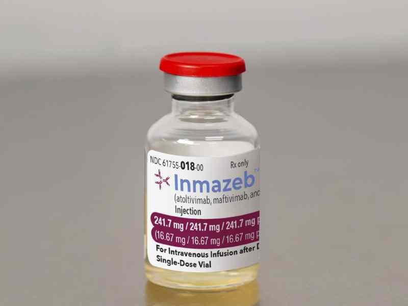 medicamento ébola
