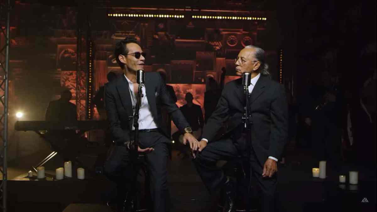 ¡Buenísima! Marc Anthony lanza canción con su padre, Don Felipe Muñiz