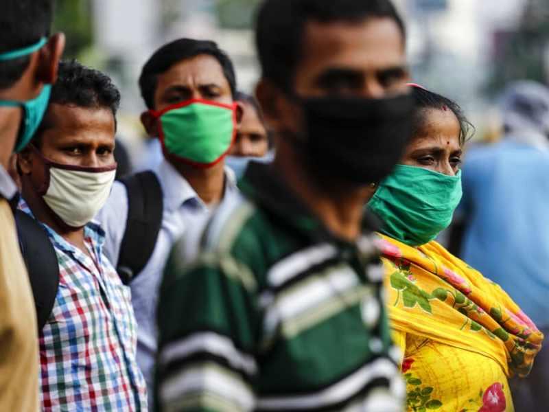 COVID-19 India supera los 7 millones de casos, se acerca a Estados Unidos