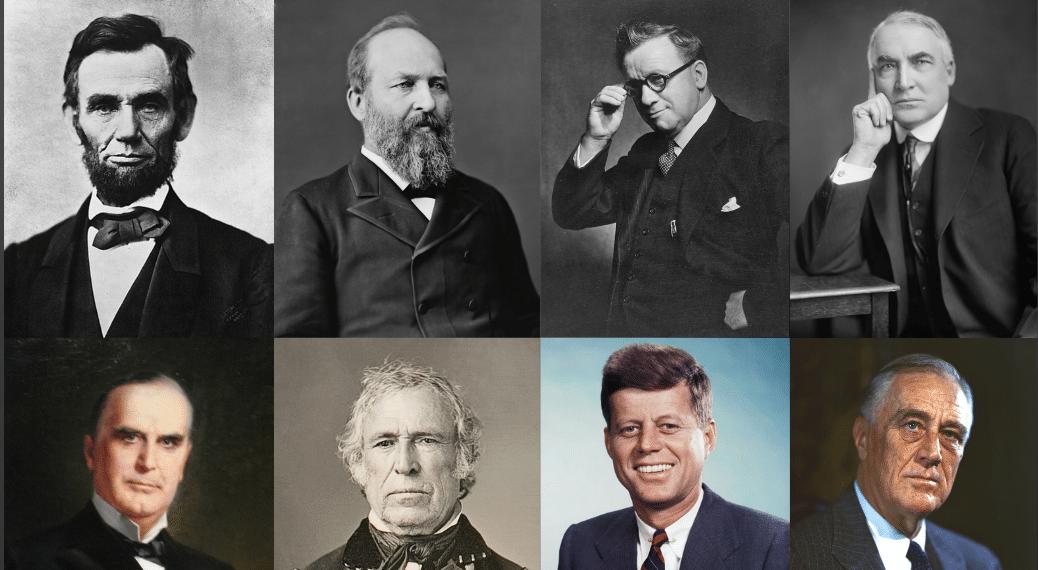 presidentes muertos muerte cuatrienio