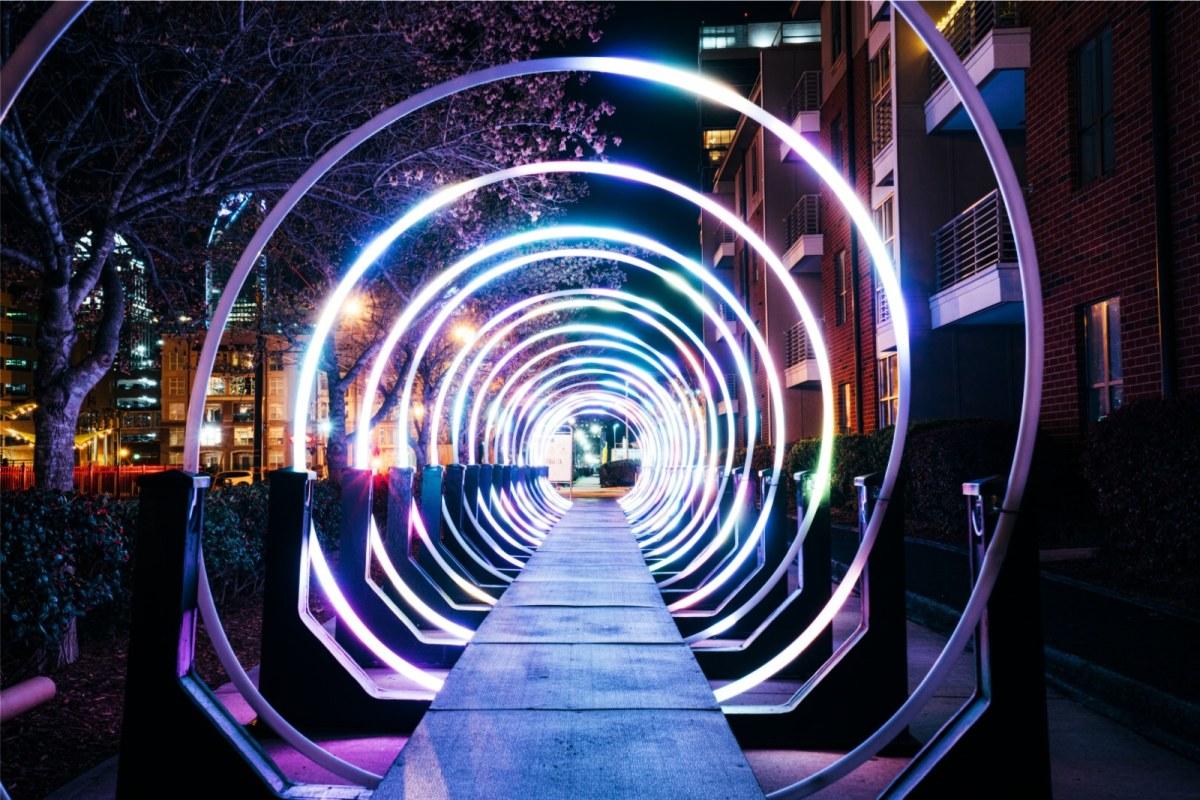 I Heart Rail Trail Lights 2020