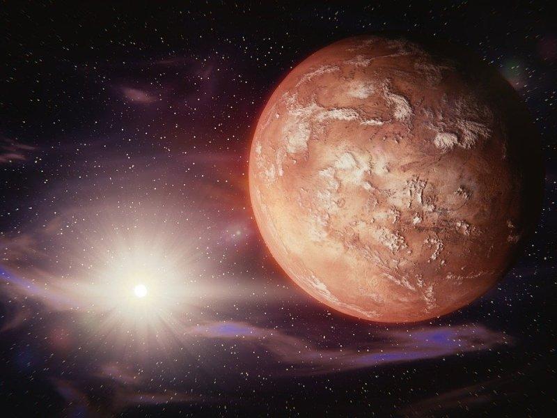 Marte vida planeta