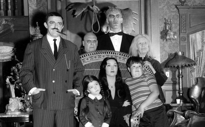 Tim Burton Locos Addams