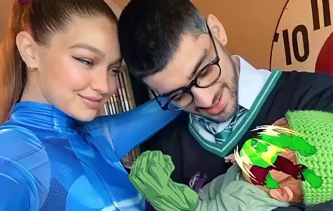 Gigi y Zayn comparten foto de su bebé