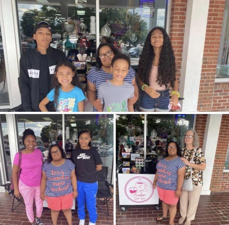 Joven con síndrome de Down abre cafetería en Carolina del Norte, en plena pandemia