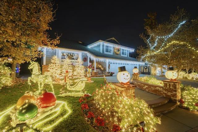 Estas son las casas con mejores decoraciones navideñas en Charlotte