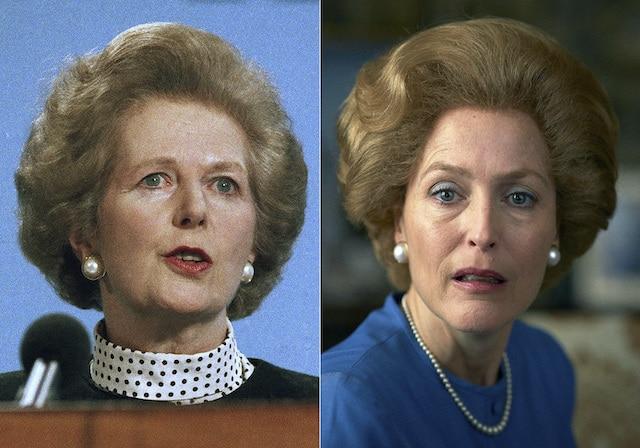 """""""The Crown"""" ¿Cómo se preparó Gillian Anderson para interpretar a Margaret Thatcher?"""