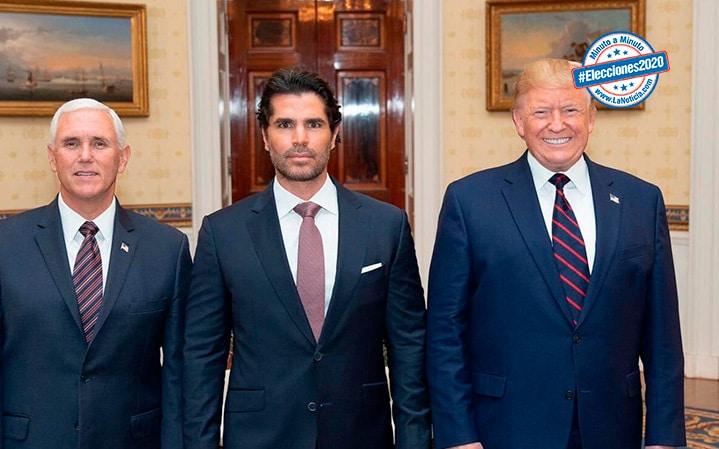 Eduardo Verastegui apoya a Trump