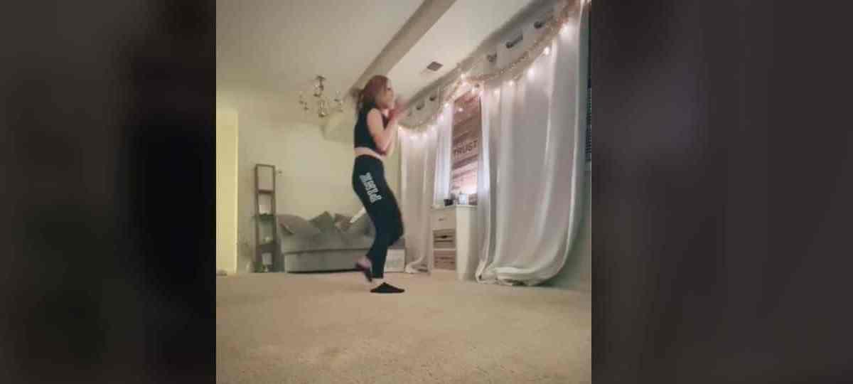 Joven grabó el terrorífico momento en que su acosador irrumpió en su casa