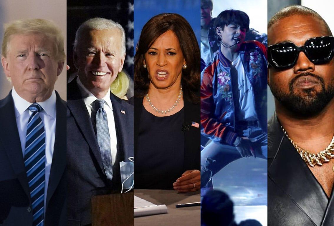 10 personas de las que más se tuiteó en 2020