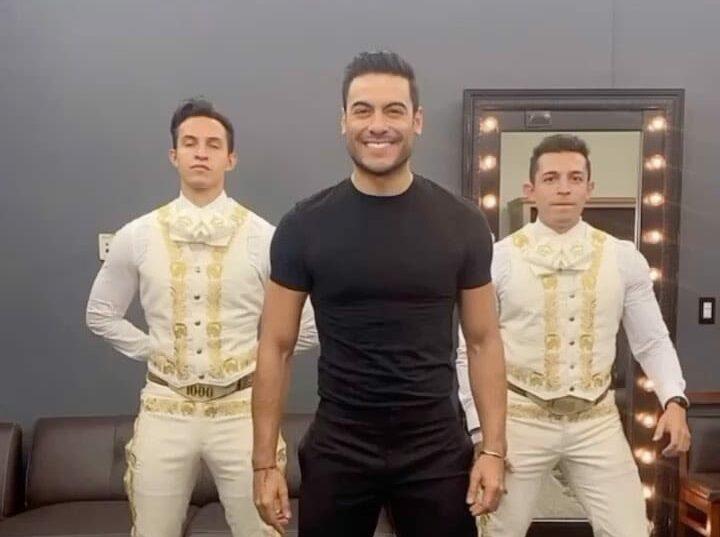 Carlos Rivera enamoró con baile
