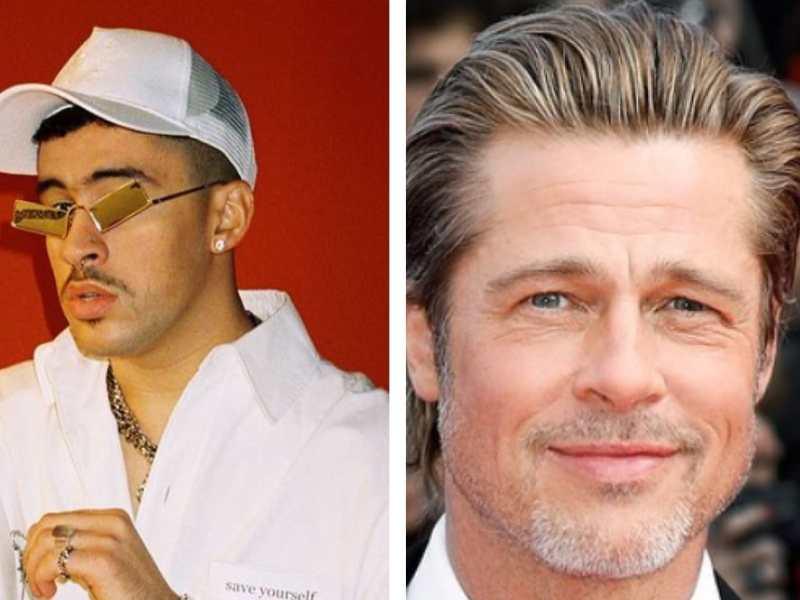 Bad Bunny inicia nuevo proyecto y ¡es con Brad Pitt!