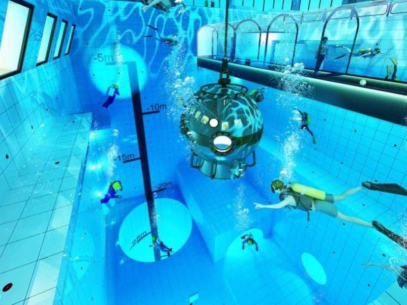 Deepspot piscina más profunda