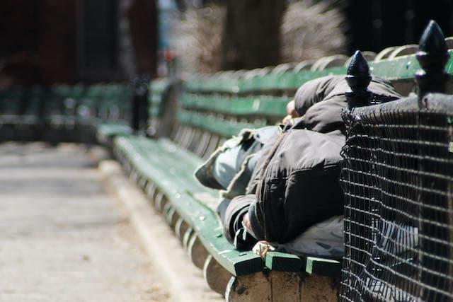 Dos hombres sin hogar murieron congelados en Navidad