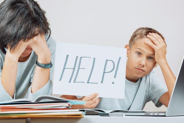 Estudio: Estudiantes retrasados en matemáticas durante una pandemia