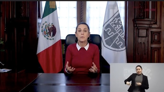 Gobierno de la Ciudad de México hace un llamado desesperado a no salir de casa