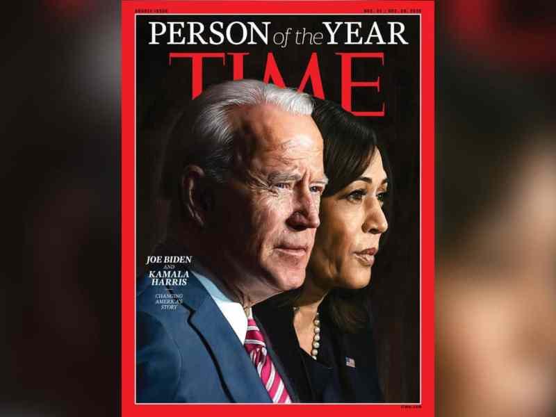 Time: Joe Biden y Kamala Harris son las personas del año