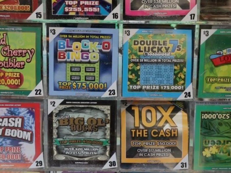 Lotería millón de dólares Carolina del Norte