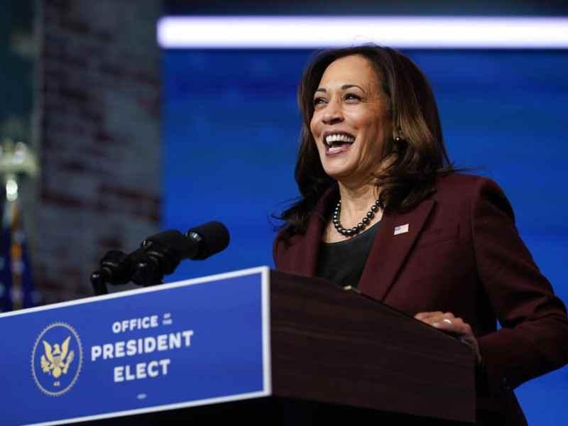 Kamala Harris renuncia a su puesto en el Senado